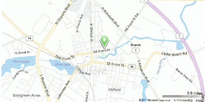 Milford Map Location