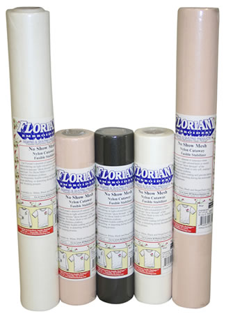 Floriani No Show Nylon Mesh Fusible