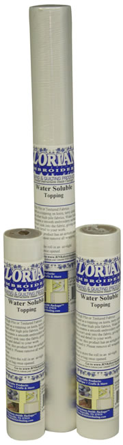 Water Soluble Topping Floriani Stabilizer
